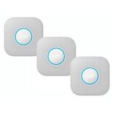 Lot de 3 détecteurs de fumée et monoxyde Nest Protect (2e Gen) à piles