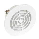 Grille ronde pour tube PVC avec moustiquaire