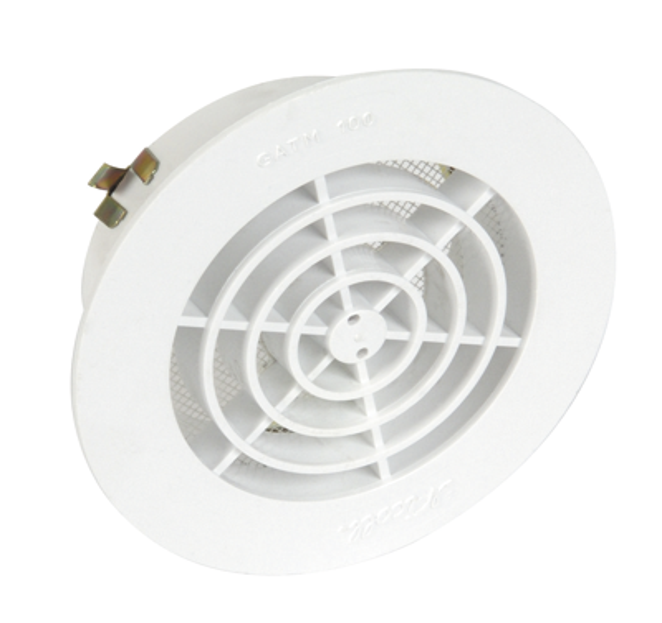 Grille ronde pour tube PVC avec moustiquaire Nicoll