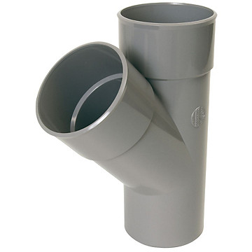 Embranchement PVC simple MF PVC à 67°30 Nicoll
