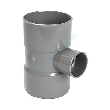 Embranchement simple réduit FF PVC à 87°30 Nicoll
