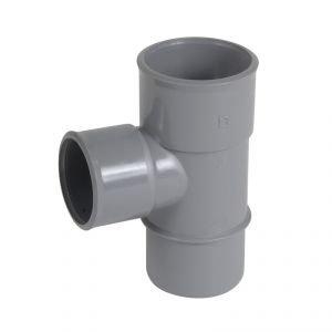 Embranchement PVC  simple réduit MF à 87°30 Nicoll