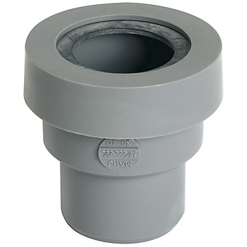 Manchette pour sortie d'appareil sanitaire PVC Nicoll