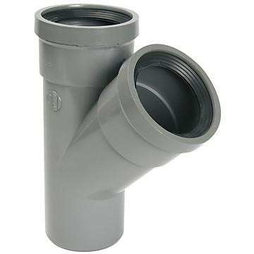 Embranchement système J MF PVC à 45° Nicoll