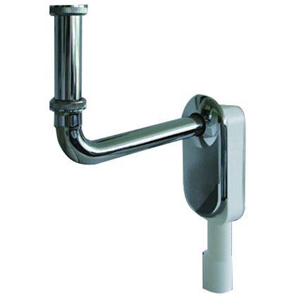 Siphon lavabo déporté encastré spécial PMR Nicoll
