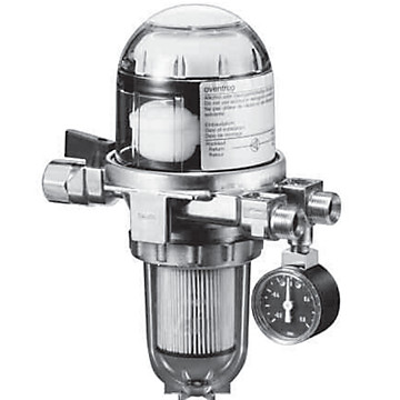 Filtre à mazout avec séparateur d'air Oventrop