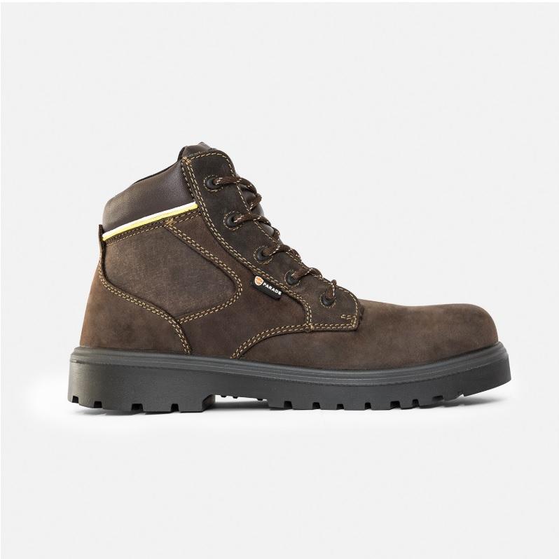 Chaussure hautes de sécurité Forest - Marron Parade