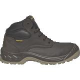 Chaussures de sécurité hautes cuir marron Nouméa