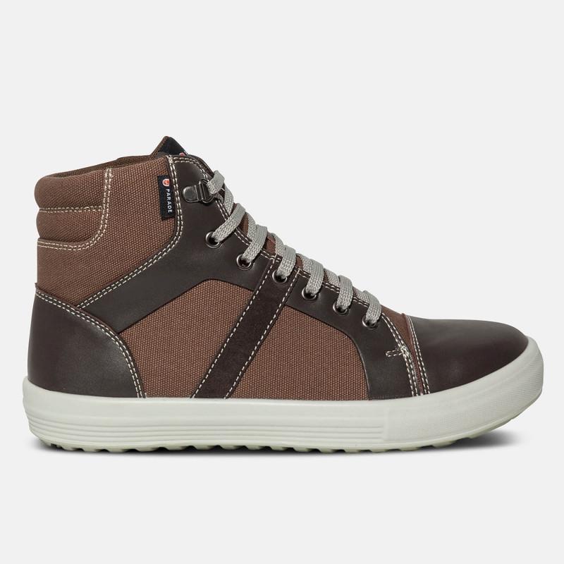 Chaussures hautes Vercor - Marron - S1P SRC Parade
