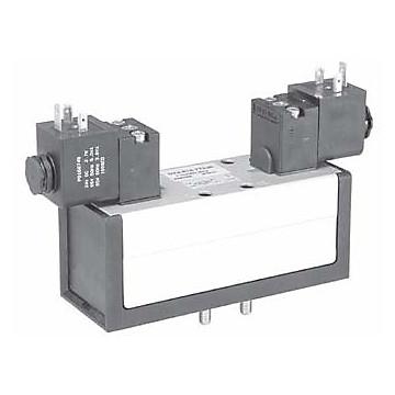 Distributeur 5/3 centre pression électrique-électrique Iso 5599-1 série DX-613-BN Parker