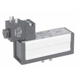 Distributeur 5/2 monostable électrique-différentiel Iso 5599-1 série DX-651-BN