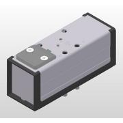 Distributeurs 5/2 bistables, pneumatique-pneumatique Iso 5599 - VDMA taille 1 2 et 3, série DX-406-70