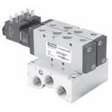 Distributeur Viking LITE en ligne à commande électrique, fonction : 5/2 monostable