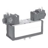Distributeur 5/2 bistable électrique-électrique ISO 559-1 série DX1-606-BL49 complet