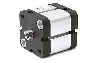 Vérin ISO compact P1P alésage Ø63mm D.E. tige mâle
