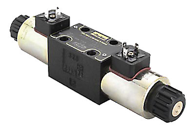Distributeur hydraulique CETOP 5 NG10 4/2 monostable