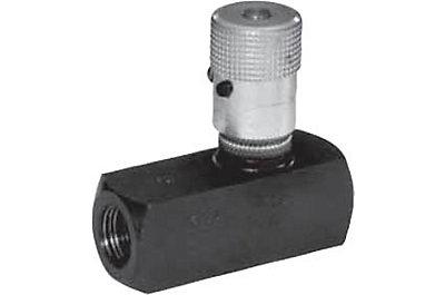 Limiteur de débit unidirectionnel micrométrique montage en ligne série 9FxxxS