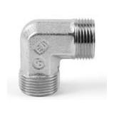 Coude égal 90° EO - Inox - Type W - Série L