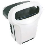 Sèche-mains électrique Exp'air - Aluminium