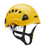 Casque de chantier VERTEX ventilé jaune