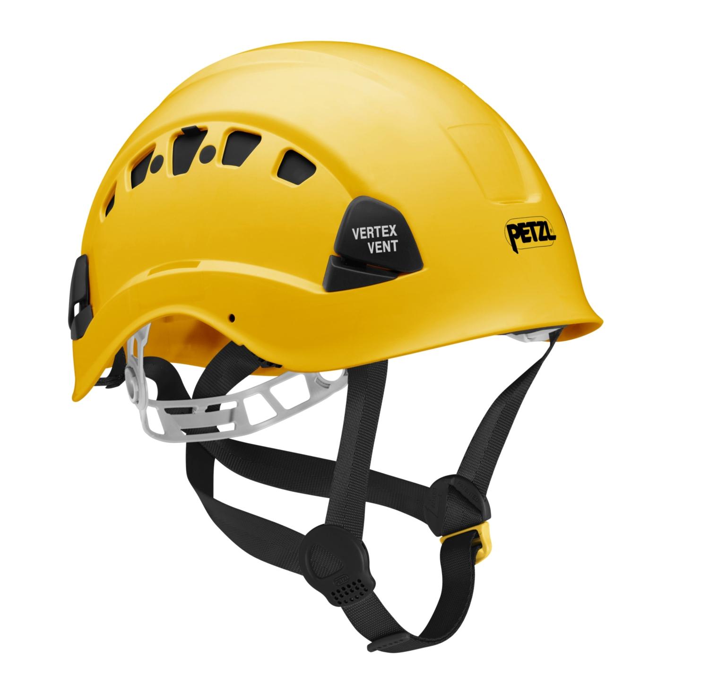 Casque de chantier VERTEX ventilé jaune Petzl