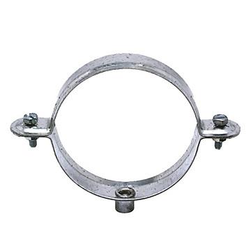 Collier descente galva pour gouttière 8 X 125 Plombelec