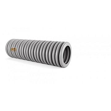 Gaine ICA 3321 grise sans tire-fils PM Plastic Materials