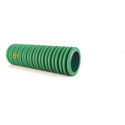 Gaine ICTA 3422 verte avec tire-fils PM Plastic Materials