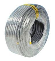 Gaine ICTA 3422 grise avec tire-fils