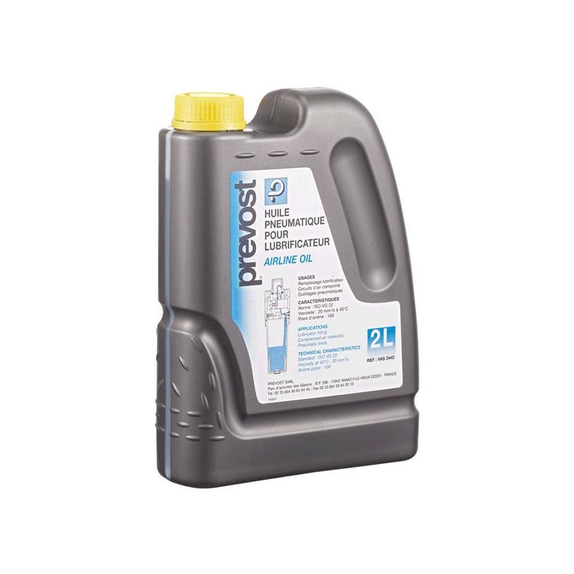 Huile minérale pour air comprimé , lubrificateur et outillage pneumatique Prevost