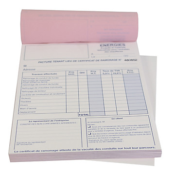 Carnet de ramonage Progalva