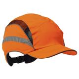 Casquette First base 3 visière standard orange avec sérigraphie Bombardier