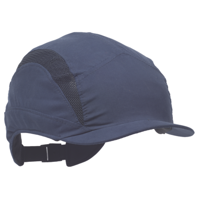 Casquette First base 3 marine visière courte Protector
