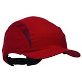 Casquette antichoc First Base 3 rouge visière 70 mm