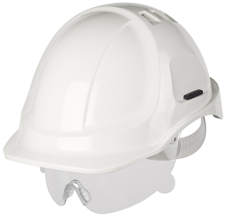 Casque de chantier style 600 avec lunettes Protector