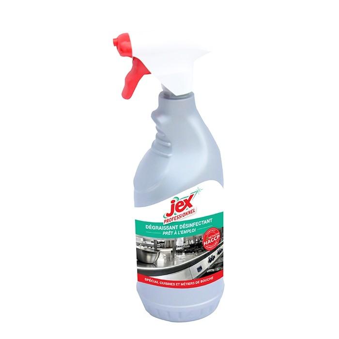Dégraissant désinfectant - 2 bidons d'1 L Jex Pro