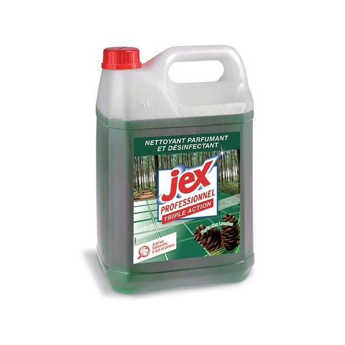 Désinfectant triple actions - bidon de 5 L Jex Pro