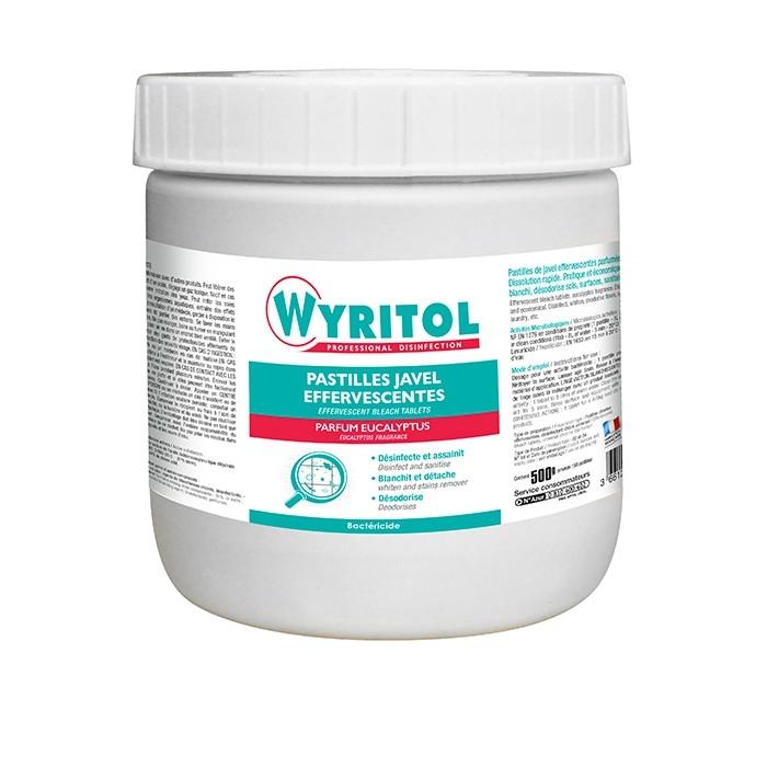 Pastille javel effervescentes - Boite de 150 Wyritol