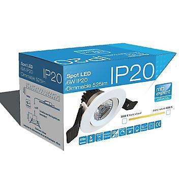 Spot encastré LED orientable EXO7 MB Expert