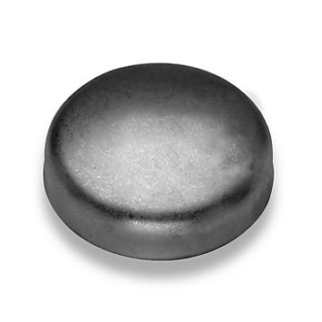 Fond bombé à souder acier noir Raccorderie Metalliche