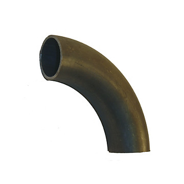 Courbe à souder 90° - grand rayon 5D - acier noir Raccorderie Metalliche