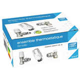 Ensemble thermostatique fileté femelle