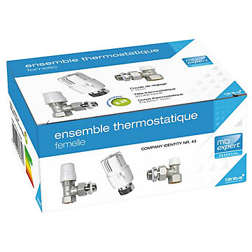 Ensemble thermostatique fileté femelle MB Expert