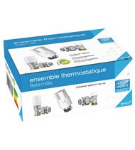 Ensemble thermostatique fileté mâle