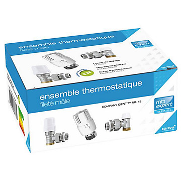 Ensemble thermostatique fileté mâle MB Expert