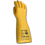 Gants isolants latex naturel miel Electrovolt classe 4