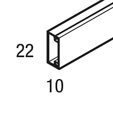 MS 20 x 10 à 50 x 20 - blanc Rehau