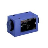 Clapet anti-retour hydraulique sur embase CETOP série SV