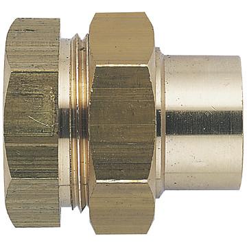 Raccord 3 pièces femelle à souder - Fig.340 GCu JSC