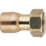 Raccord 2 pièces douille cuivre droit - Fig. 359GCL
